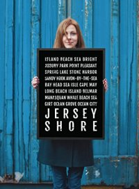 Jersey Shore Print, New Jersey Shore Subway Sign Poster ...