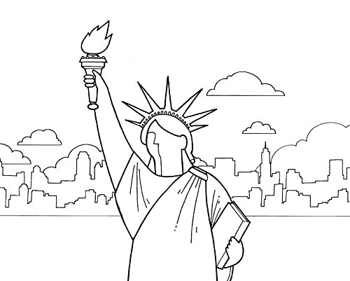 Buy New York Coloring Book to Create Stunning Works of Art
