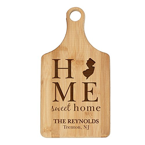 state nj personalized bamboo