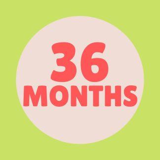 36 months