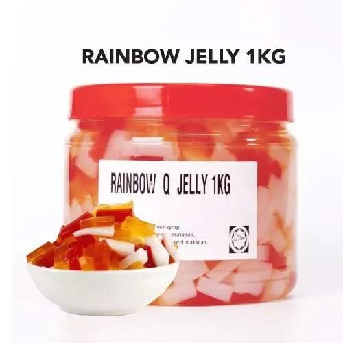 rainbow jelly new