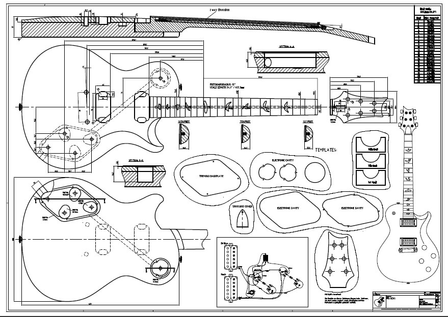 related with paul reed smith 408 wiring diagram