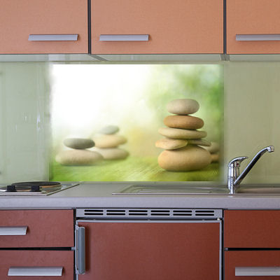 Kchenrckwand aus Glas als Spritzschutz  GLASPROFI24