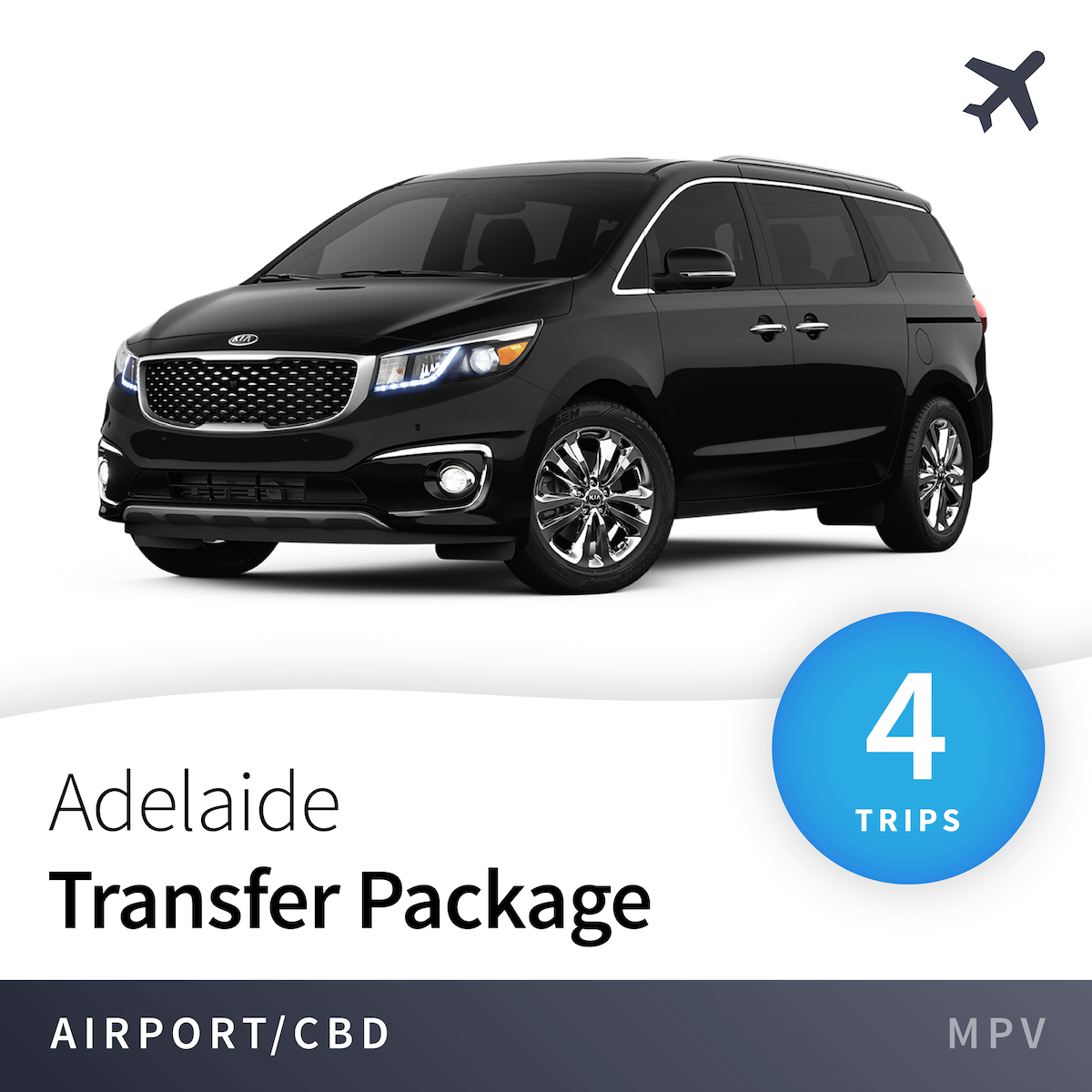 Adelaide Airport Transfer Package - MPV (4 Trips) 2