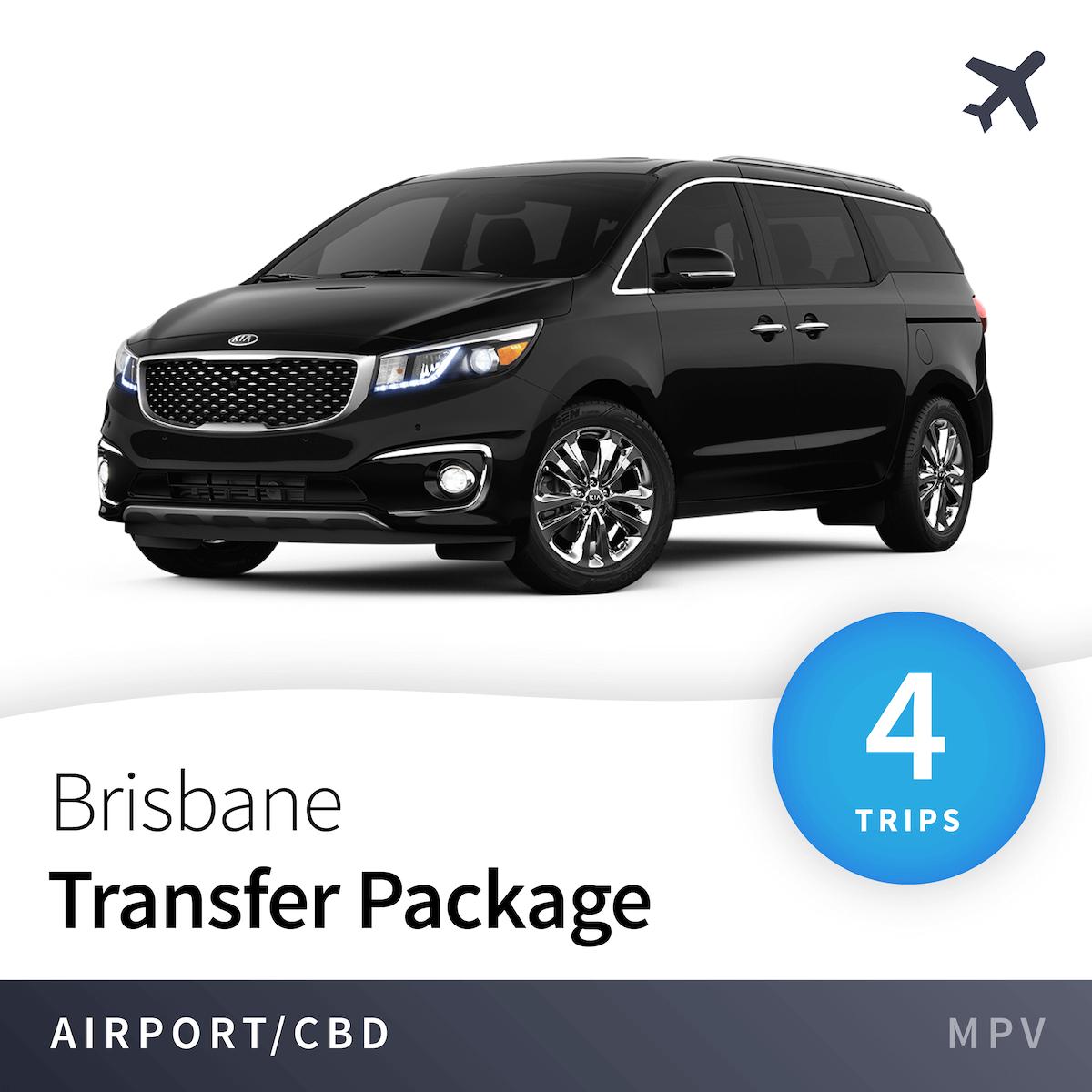 Brisbane Airport Transfer Package - MPV (4 Trips) 1