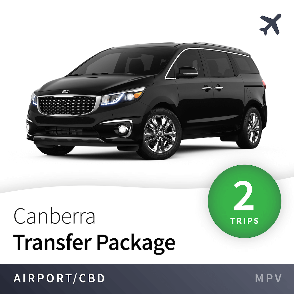 Canberra Airport Transfer Package - MPV (2 Trips) 1