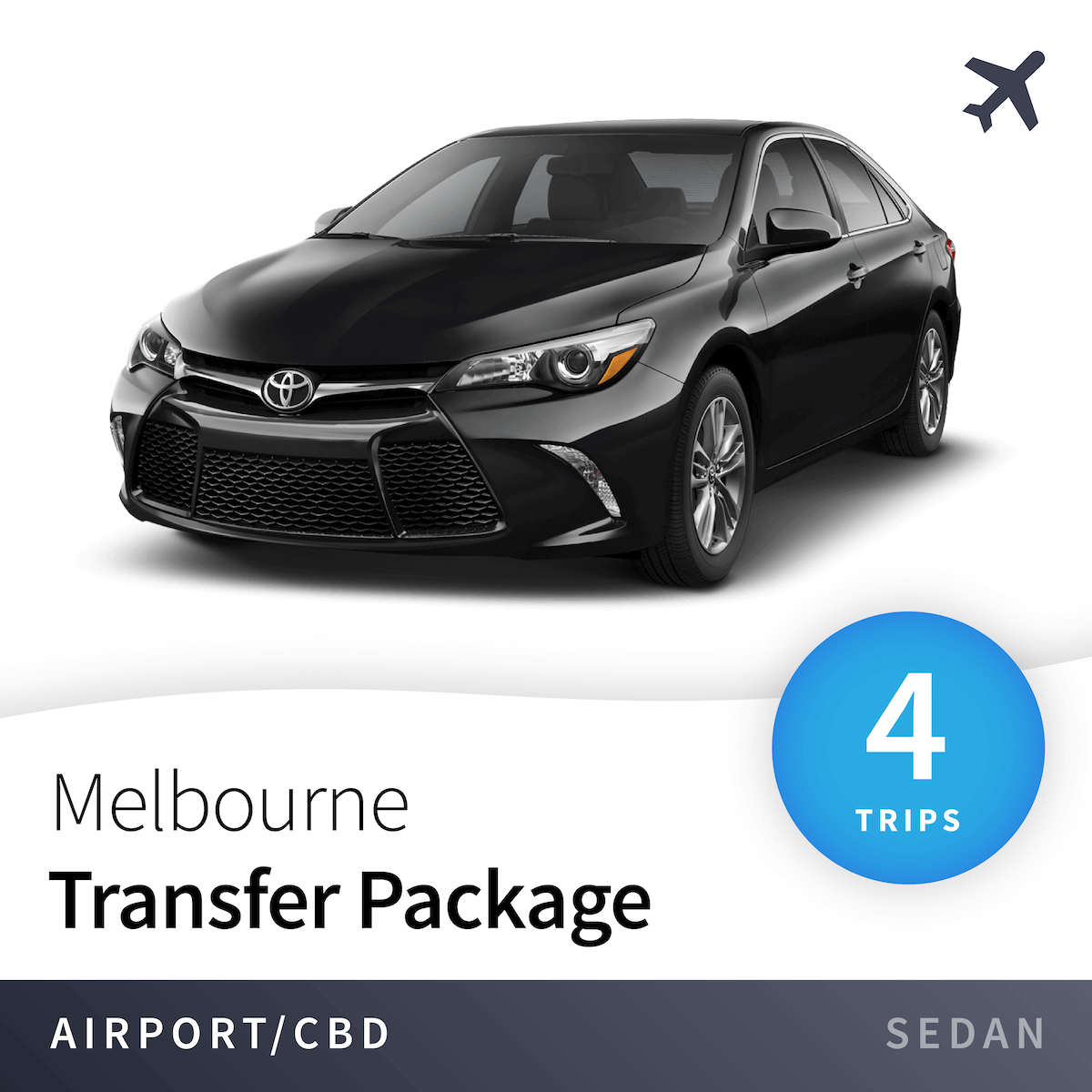 Melbourne Airport Transfer Package - Sedan (4 Trips) 10