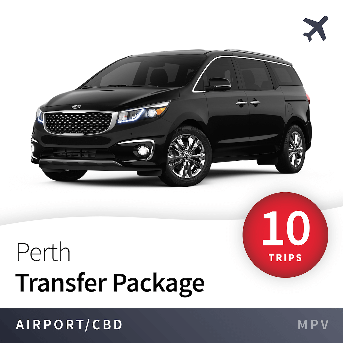 Perth Airport Transfer Package - MPV (10 Trips) 1