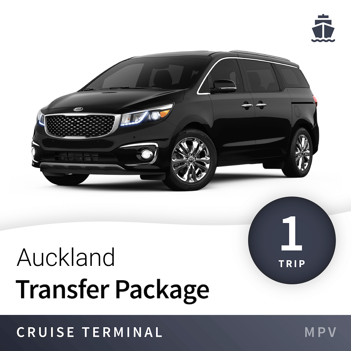 Auckland Cruise Terminal Transfer Package – MPV (1 Trip) 1