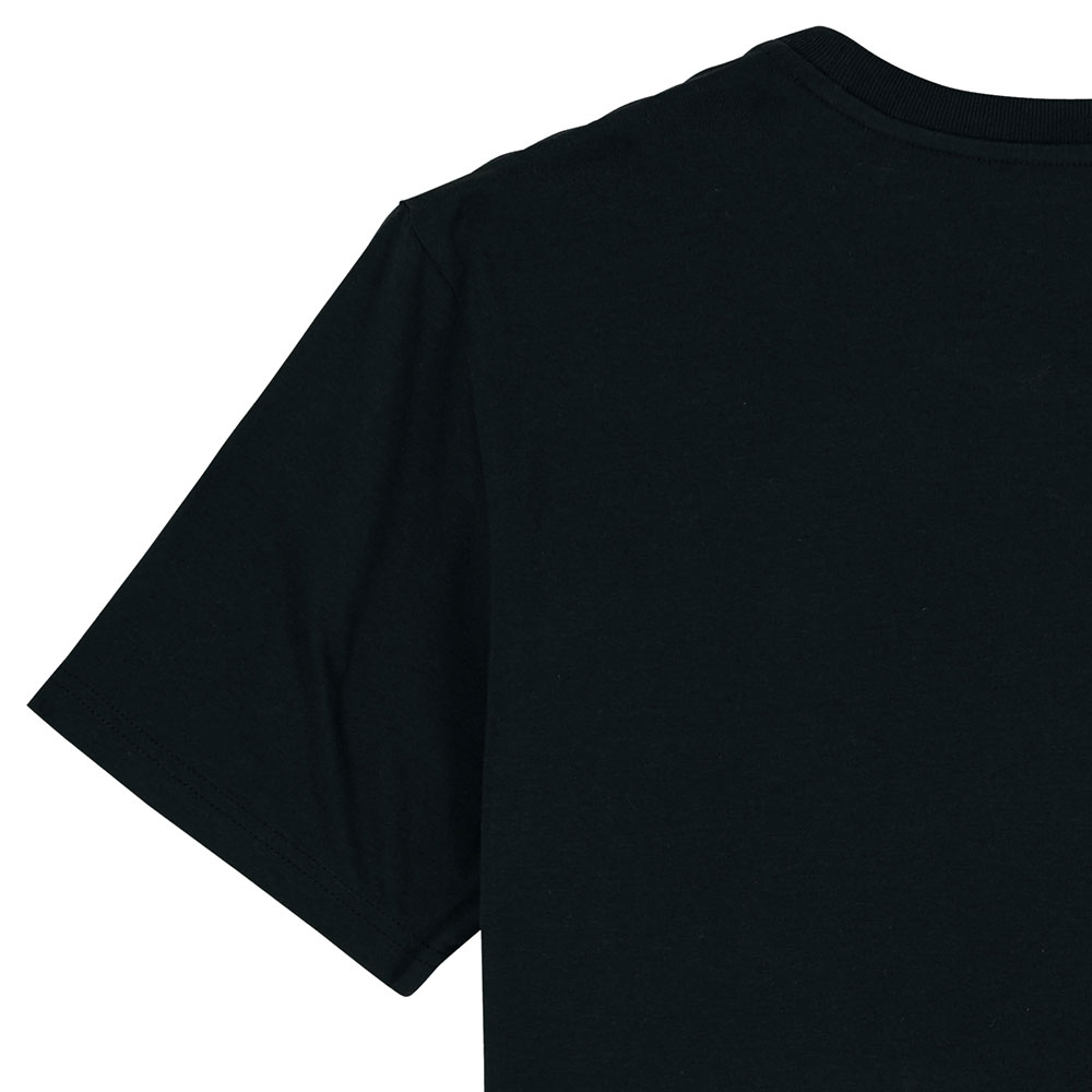 Mokum shirt zwart-rood detail