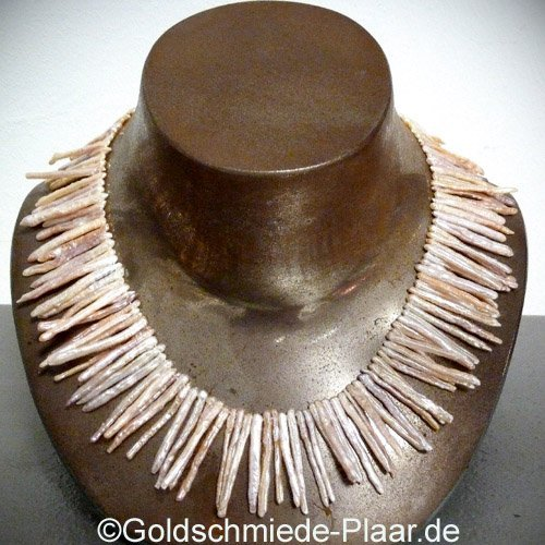 Perlenkette aus Stbchen ganz besondere Form