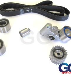 impreza turbo wrx sti cam timing belt kit belt x5 tensioner idler pulleys 03 06 newage ggs123tbk14 [ 1024 x 768 Pixel ]