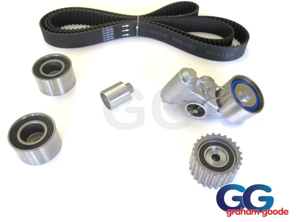 medium resolution of impreza turbo wrx sti cam timing belt kit belt x5 tensioner idler pulleys 03 06 newage ggs123tbk14