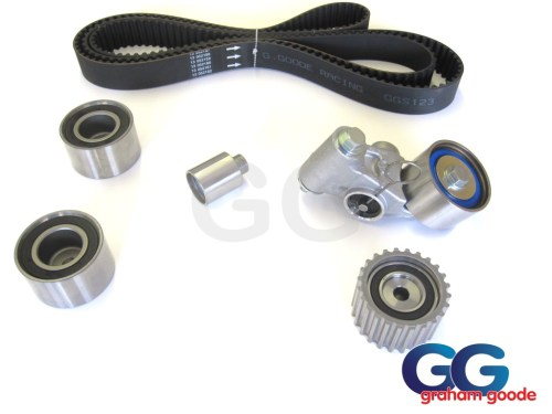 small resolution of impreza turbo wrx sti cam timing belt kit belt x5 tensioner idler pulleys 03 06 newage ggs123tbk14