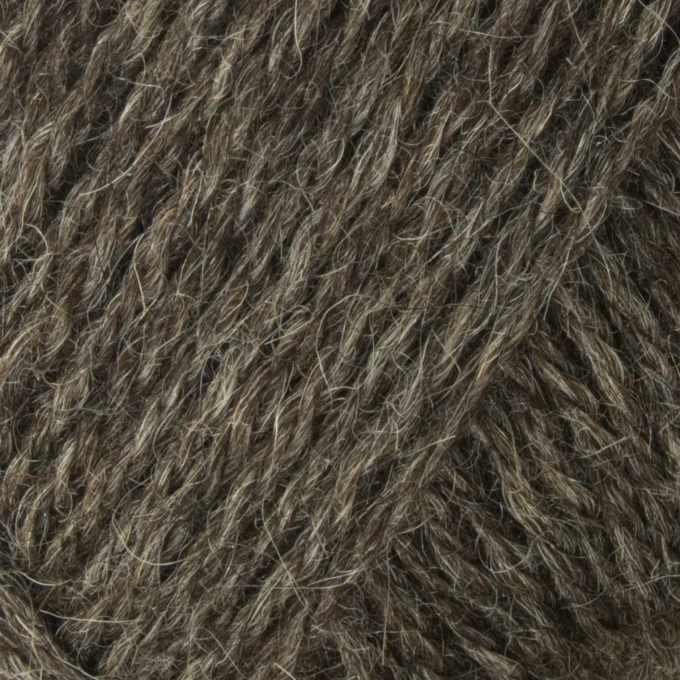 Greener Wool Mergelland Dark Slate Detail