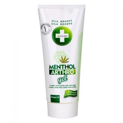 Annabis Menthol Arthro Gel efecto frio de cannabis