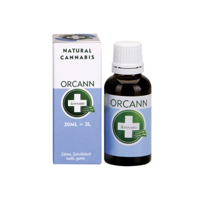 Annabis Orcann enjuague bucal 30ml de cannabis