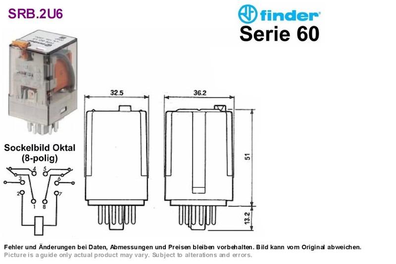 125vac 10a dpdt plug in relay wiring diagram