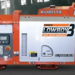 Digital Series Kubota Low Boy Generators
