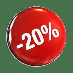 20% kedvezmény
