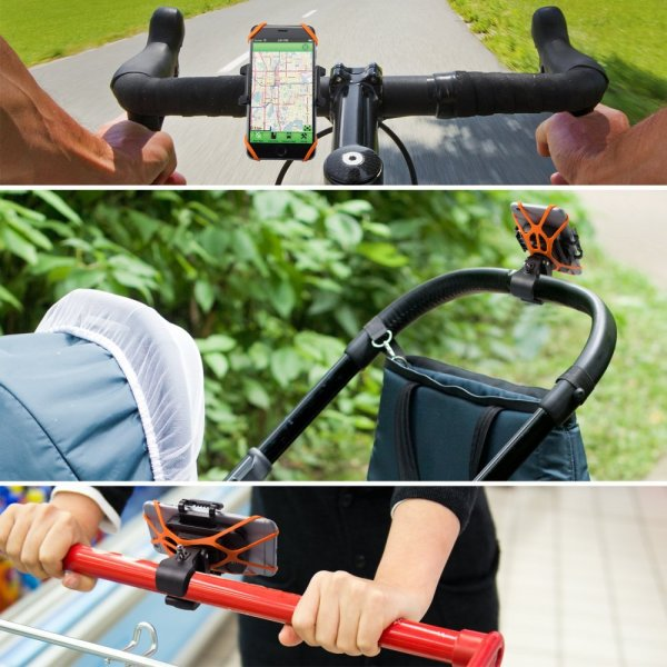Phone bicycle mount