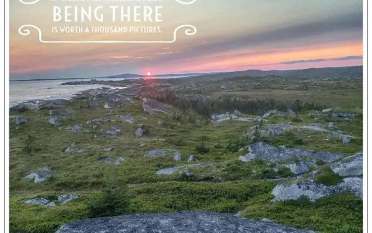 Postcards: Peggy's Cove Sunset – Halifax, Nova Scotia