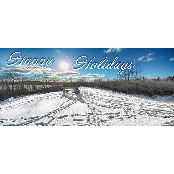 long lake provincial park christmas card