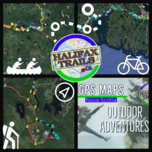 GPS Map Files: Crystal Crescent Hiking Trails - Halifax