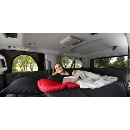 The Overnighter™ Car Camping Tent- Window Screen with Retractable Canopy