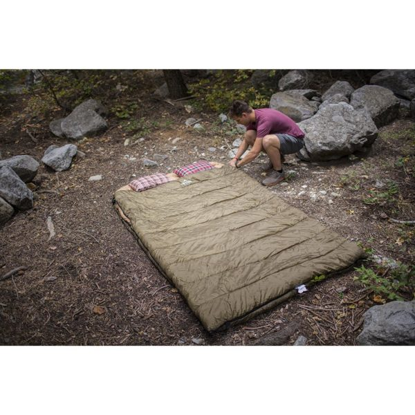 TETON Sports Mammoth -18C Queen Size Sleeping Bag