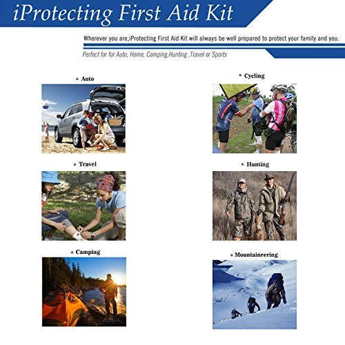 Compact, Lightweight First Aid Kit - 119 Pieces