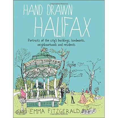 hand drawn halifax