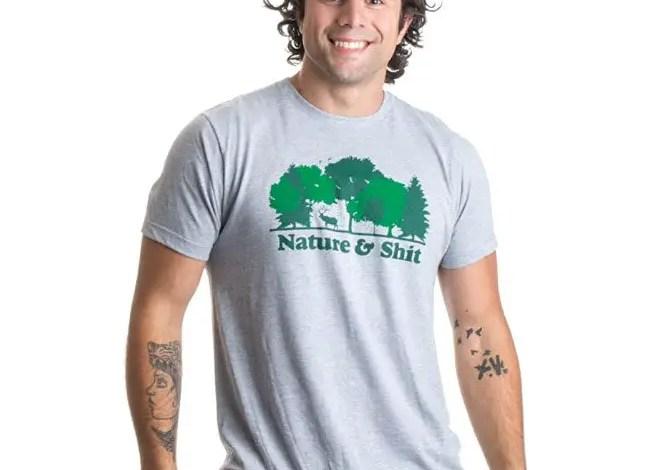 Nature & Shit   Unisex T-Shirt