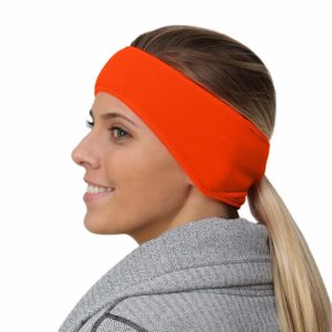 Women's Ponytail Headband – hunter orang