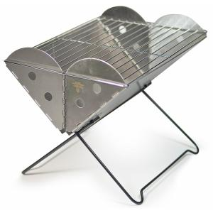 UCO Grilliput Flatpack Portable Stainless Steel Grill and Fire Pit