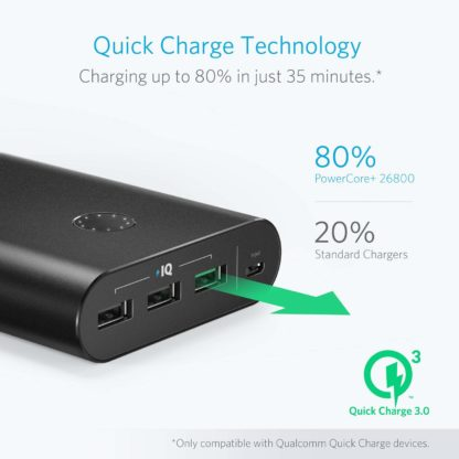 Quick Charge 3.0 Battery Bank