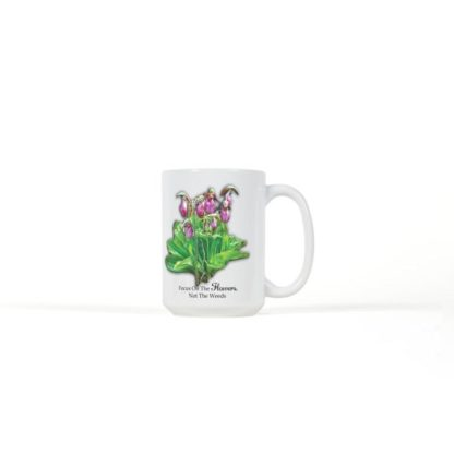 Ladyslipper Flower Coffee Mug