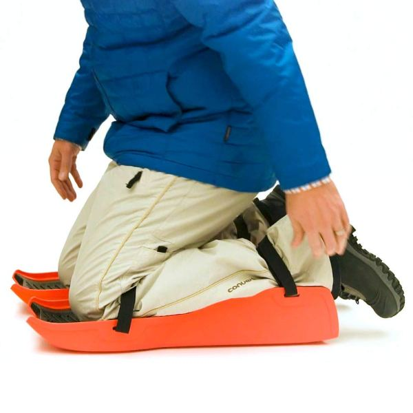 Sled Legs Wearable Snow Sleds with Leg Support