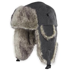 Wool Blend Trapper Hat