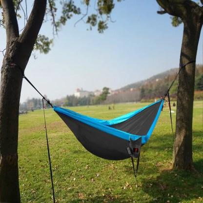 Single & Double Camping Hammock with Hammock Tree Straps