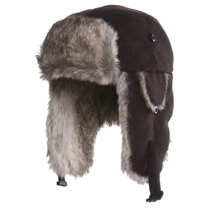 Wool Blend Trapper Hat