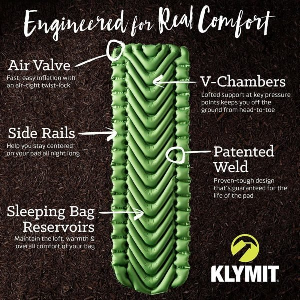 Klymit Static V Lightweight Sleeping Pad