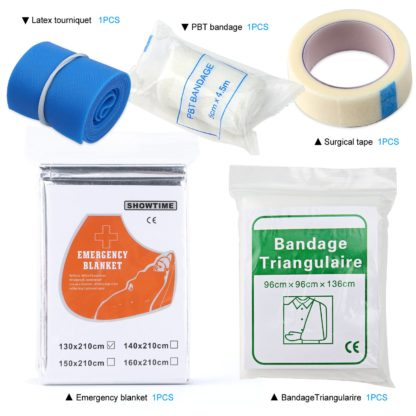Compact, Versatile All-Purpose Emergency First Aid Kit