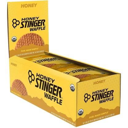 Honey Stinger Organic Waffle, Honey, 1.06 Ounce (Pack of 16)