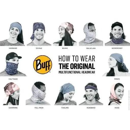 BUFF Unisex Original Multifunctional Headwear