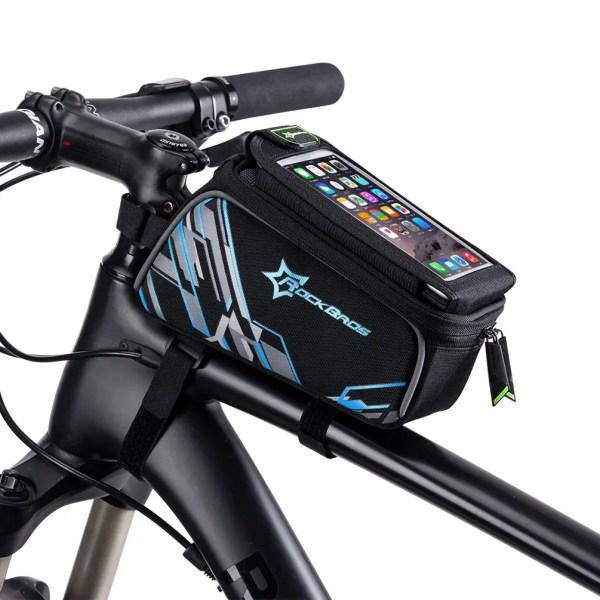 Bike Frame Bag & Smartphone Mount