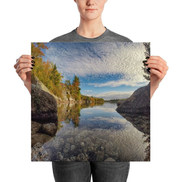 Fox Lake Blue Mountain Birch Cove Lakes Halifax Nova Scotia Photo Prints