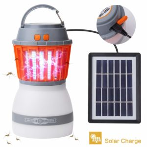 Camping Lantern 2in1 Solar Light & Outdoor Mosquito Repellent