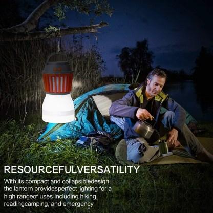 Camping Lantern 2in1 Solar Light & Outdoor Mosquito Repellent