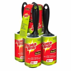 Scotch Brite Value Pack Lint Roller 5 Pk - 400 Sheets